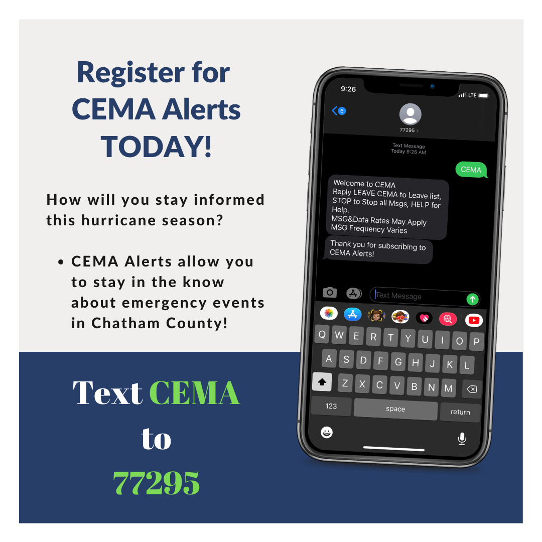 Register for CEMA Alerts TODAY!