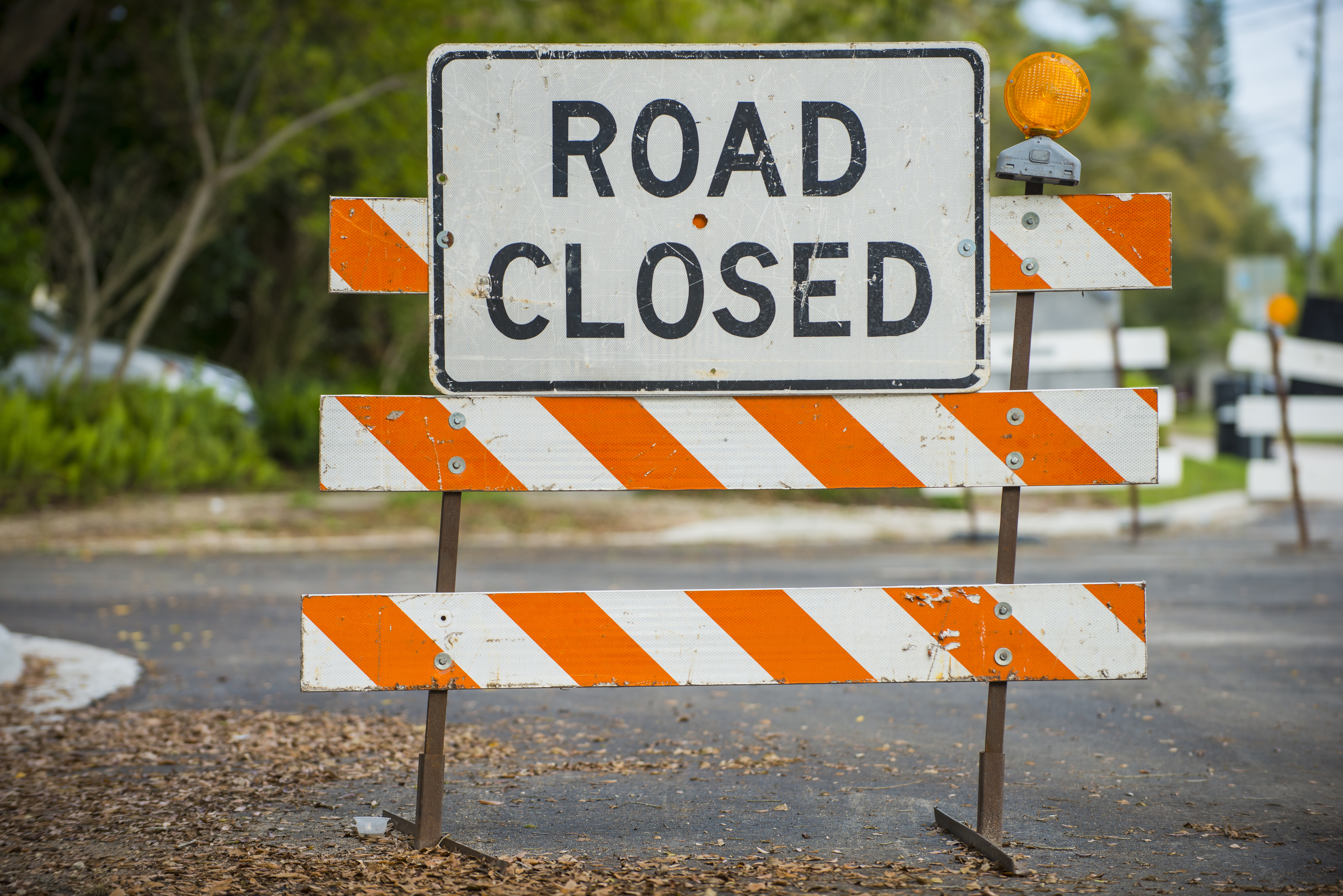 Keep Up to Date with Road Closures